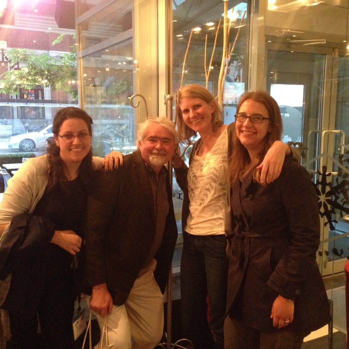 Susana Wadgymar, Art, Emily Austen and Jennifer Ison, CSEE Meeting, Montreal, 2014.